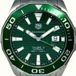 Tag Heuer Calibre 5 Green (1)