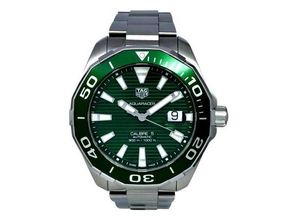 Tag Heuer Calibre 5 Green (1) – Copy